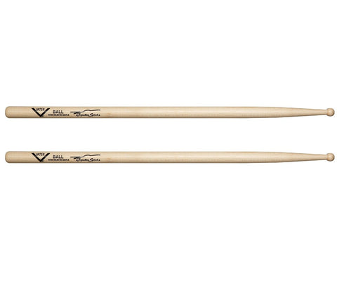 Vater VMCBW Percussion Sugar Maple Ball Wood Tip Cymbal Drum Sticks