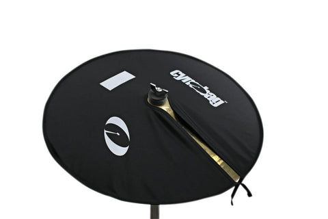Cymbag CY18BK Bag for Cymbals Microfiber Material 18 Inches