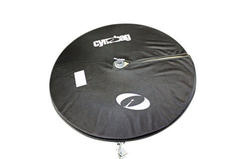 Cymbag CY24BK Bag for Cymbals Microfiber Material 24 Inches