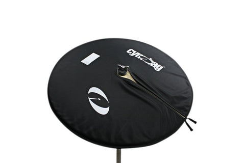 Cymbag CY22BK Bag for Cymbals Microfiber Material 22 Inches