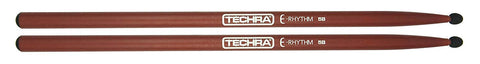 Techra ER-5B E-Rhythm Series Drum Sticks - Carbon Fiber 5B