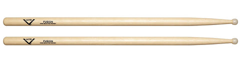 Vater VHFN Fusion Drum Sticks Round Nylon Tip American Hickory Wood