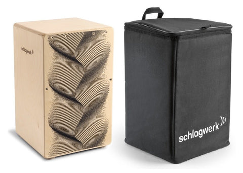 Schlagwerk CP120 X-One Series Cajon Illusion Design Birch Playing Surface