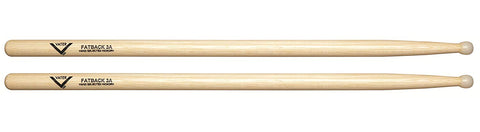 Vater VHP3AN Power Drum Sticks Nylon Rounded 3A Tip American Hickory