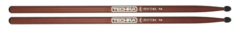 Techra ER-7A E-Rhythm Series Drum Sticks - Carbon Fiber 7A
