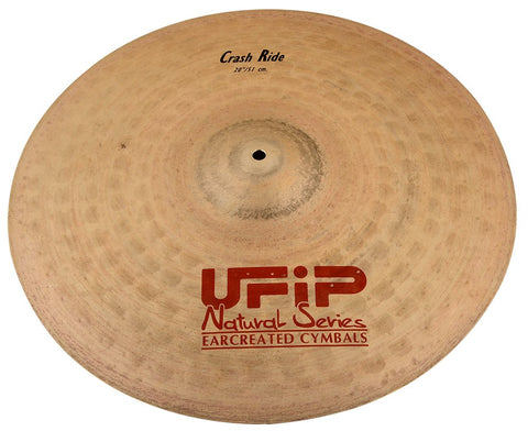 Ufip NS-21CR Natural Series Crash Ride Cymbal Bronze Alloy 20-Inch