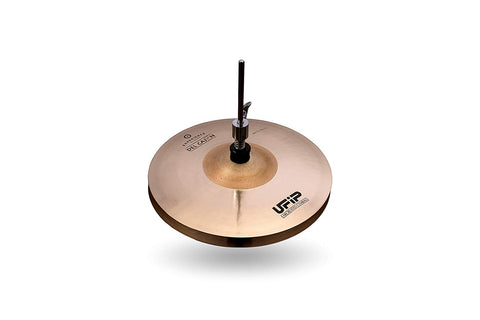 Ufip ES-10CJH Experience Collection Del Cajon Hi Hat Cymbals Bronze 10 Inch
