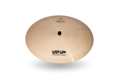Ufip ES-20FR Experience Collection 20 Inch Flat Ride Cymbal Alloy b20 Bronze Professional