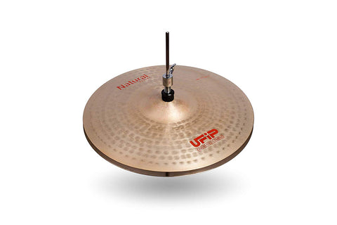 Ufip NS-14MHH Natural Series Medium Hi-Hat Cymbals Bronze Alloy 14-Inch