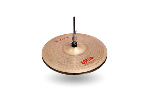 Ufip NS-13MHH Natural Series Medium Hi-Hat Cymbals Bronze Alloy 13-Inch
