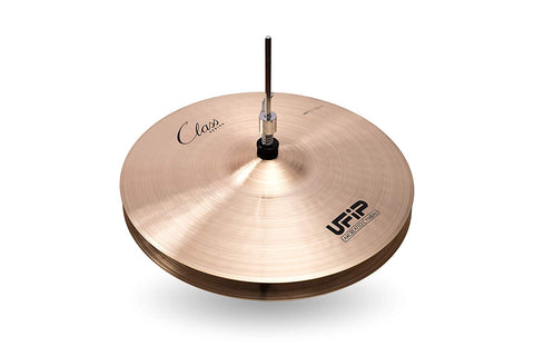 Ufip CS-15LHH Class Series Medium Hi Hat Cymbals Cast Bronze 15 Inch
