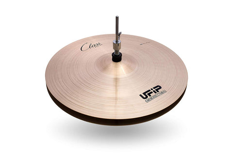 Ufip CS-16LHH Class Series Light Hi Hat Cymbals Cast Bronze 16 Inch