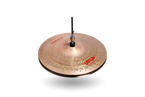 Ufip NS-14LHH Natural Series Light Hi-Hat Cymbals Bronze Alloy 14-Inch