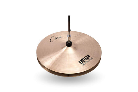Ufip Cymbals CS-13MHH Class Series Medium Hi Hat Cymbals 13 Inches