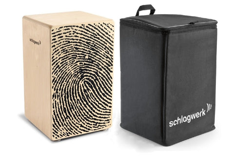 Schlagwerk CP107 PACK X-One Series Fingerprint Cajon Resonance Box with TA12 BackPack Bag