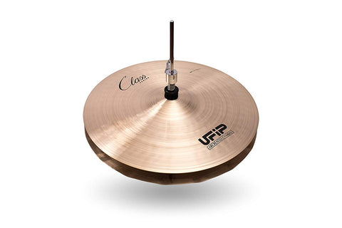 Ufip CS-14WHH Class Series Wave Hi Hat Cymbals B20 Cast Bronze 14 Inch