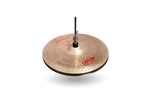 Ufip NS-13LHH Natural Series Light Hi-Hat Cymbals Bronze Alloy 13-Inch