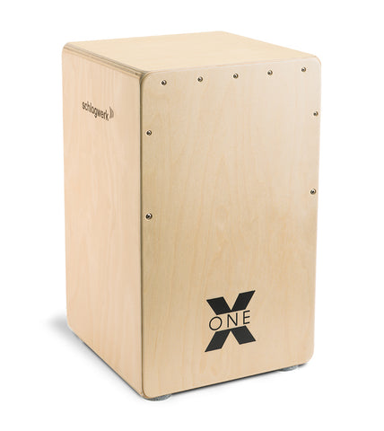 Schlagwerk CP101 X-One Series Natural Finish Cajon 40 Snare Wires