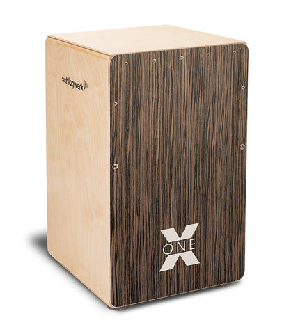 Schlagwerk CP150 X-One Series Cajon Vintage Walnut Venner Playing Surface