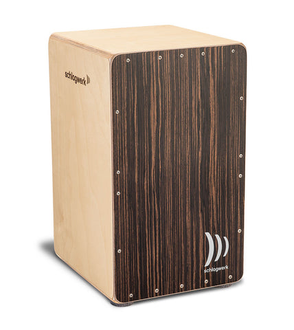 Schlagwerk CP5002 Precise OS Resonance Box Cajon - Adjustable Snare Wires - Dark Santos