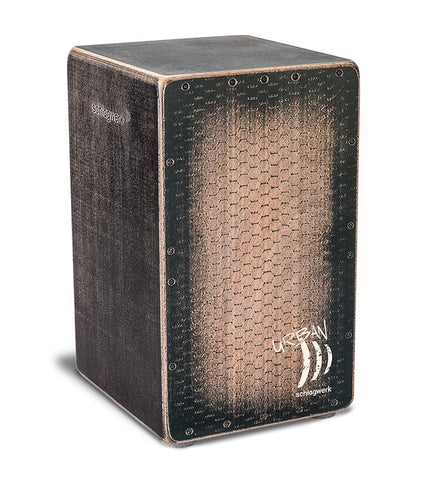 Schlagwerk CP5220 Urban OS Cajon - Adjustable Snare Wires - Black Burst