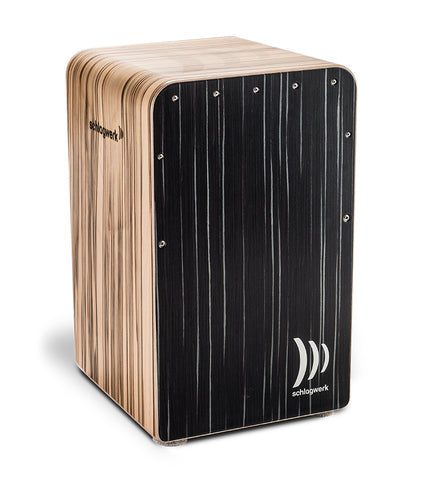 Schlagwerk CP608 Fine Line Comfort Series Cajon - Beech Wood - Dark Night