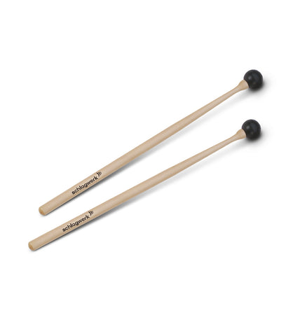 Schlagwerk MA101 Rubber Head Mallet Pair - Extra Hard