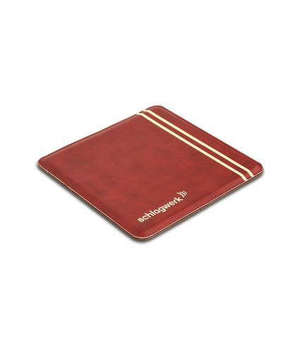 Schlagwerk SP30WRD Retro Leather Cajon Pad - Wine Red