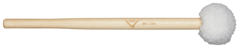 Vater MV-CB1 Concert Bass Drum Mallet Hard Felt Wood Percussion