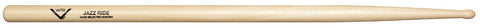 Vater VHJZRW Jazz Ride Drum Sticks Wood Teardrop Tip American Hickory