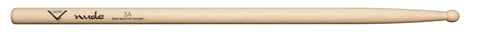 Vater VHN3AW Nude Series Fatback 3A Drum Sticks Wooden Tip