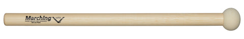Vater MV-B1PWR Extra Small Power Marching Bass Drum Mallets Hard Felt Wood