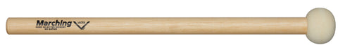 Vater MV-B2PWR Small Power Marching Bass Drum Mallets Hard Felt Wood