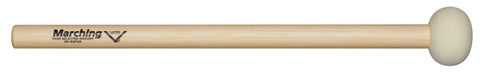Vater MV-B3PWR Medium Power Marching Bass Drum Mallets Hard Felt Wood