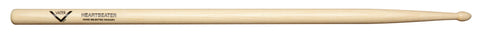 Vater VHHBW Heartbeater Drum Sticks Nylon Tip American Hickory Black