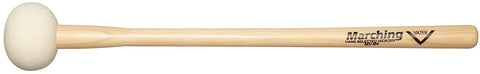 Vater MV-B4 Large Marching Bass Drum Mallets Hard Felt Wood