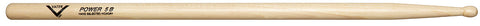 Vater VHP5BW Power Wood Tip 5B Drum Sticks American Hickory
