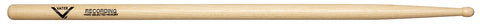 Vater VHRECW Percussion Hickory Recording Wood Tip Drum Sticks
