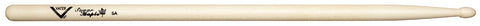 Vater VSM5AW Sugar Maple 5A Wood Tip Drum Sticks Rounded Oval Pair