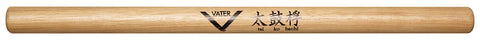 Vater VHTKBW Percussion Tai Ko Bachi Hefty Stick Hickory Wood