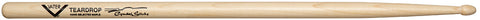 Vater VMCTW Percussion Sugar Maple Teardrop Wood Tip Cymbal Drum Sticks