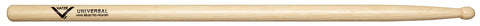 Vater VHUW Percussion Universal Wood Tip Hickory Wood Drum Sticks