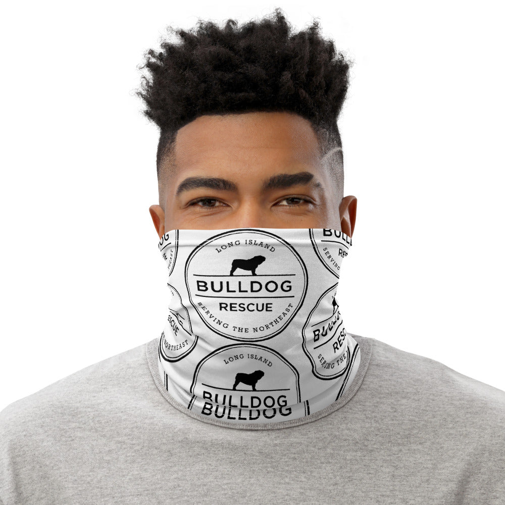 Long Island Bulldog Rescue Neck Gaiter