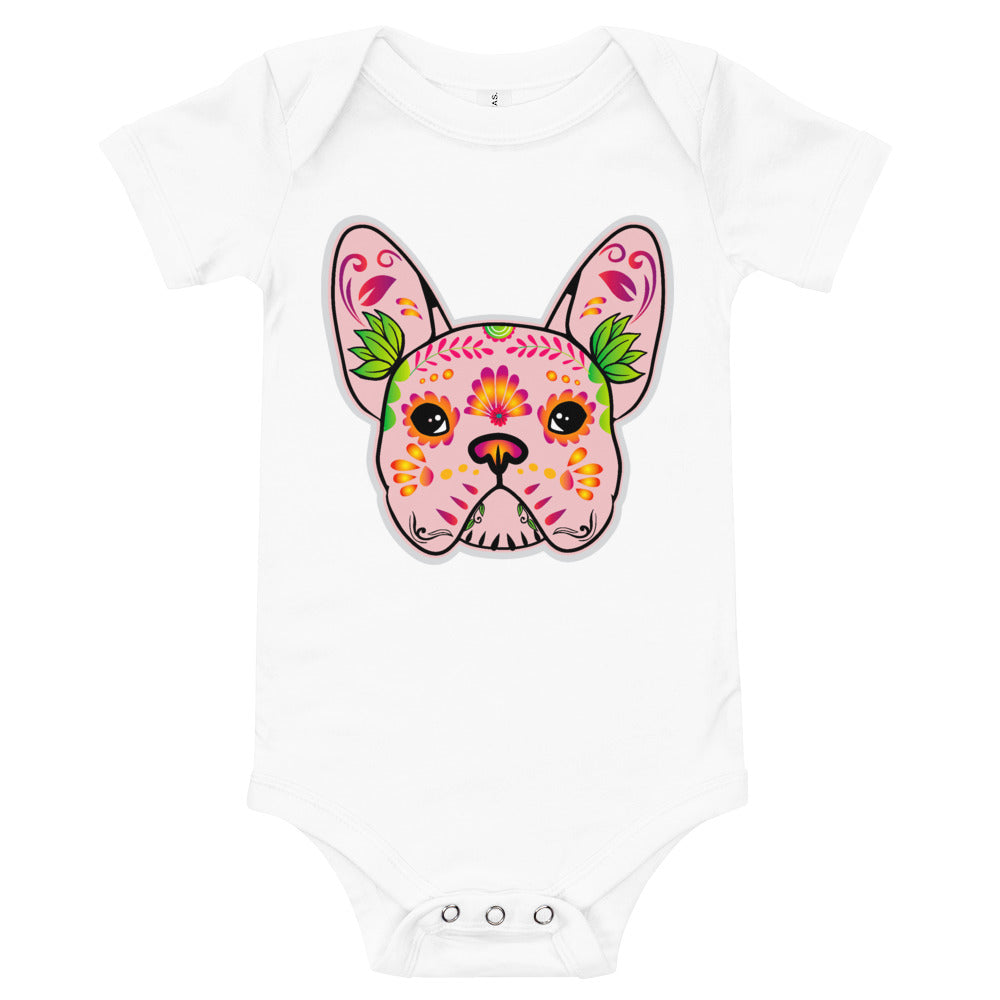French Bulldog Pink Onsie