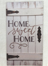 Load image into Gallery viewer, Barn Door - Home Sweet Home Wood Sign