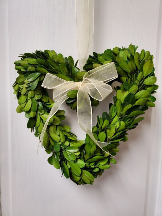 Preserved Heart Boxwood-8