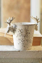 "Load image into Gallery viewer, Stag Planter 10"", Cream"