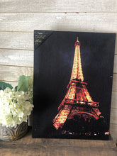 Load image into Gallery viewer, Eiffel Tower Light up Canvas