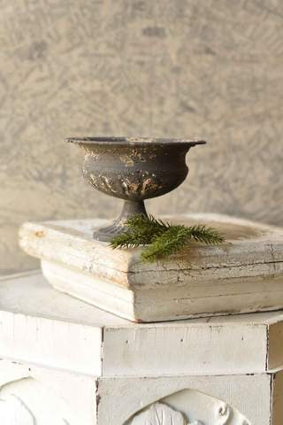 French Gray Distressed Dish Decor 6