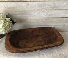 Load image into Gallery viewer, Wooden Dough Bowl-Small